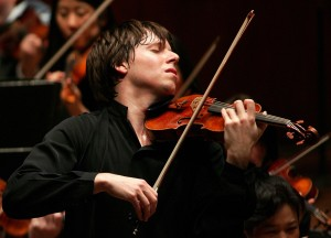 Joshua Bell.Photo by Chris Lee